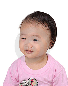 Cute Asian Chinese Girl Portrait Stock Images - Image: 9844594