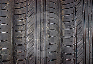 Close-up Of Car Tire Background Stock Image - Image: 9844871