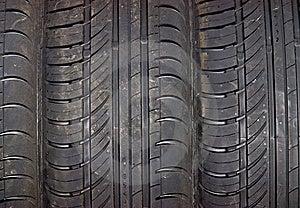 Close-up Do Fundo Do Pneu De Carro Imagem de Stock - Imagem: 9844871