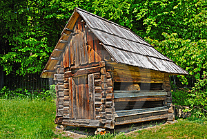 Cabin Of Poor Peasant Royalty Free Stock Photography - Image: 9847567