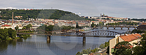 Prague's Bridges Stock Images - Image: 9848674