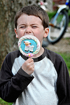 The Lollipop Stock Images - Image: 9849674