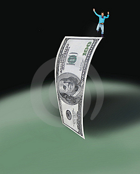 The DOLLAR POWER Stock Image - Image: 9851271