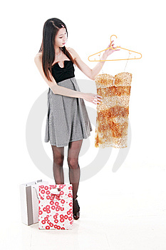 Asian Young Women Shopping Stock Photography - Image: 9853152
