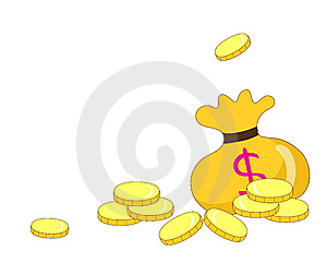Gold Coins Royalty Free Stock Photography - Image: 9853387