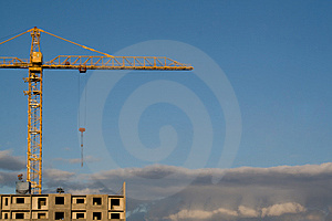 Construction Site Stock Image - Image: 9853891