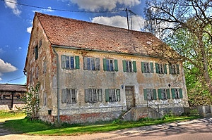 Altes Haus HDR Royalty Free Stock Photography - Image: 9856057