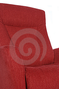 Detail Of Red Recliner Royalty Free Stock Photos - Image: 9860398