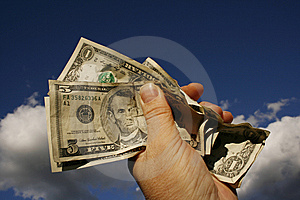 USA Currency Royalty Free Stock Photography - Image: 9861957