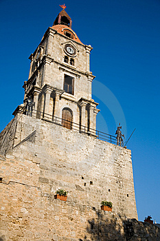 Clock Tower Royalty Free Stock Image - Image: 9862686