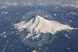 Aerial View Of Mountain Stock Image - Image: 9863941