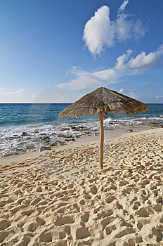Beach Palapa Royalty Free Stock Photography - Image: 9863997