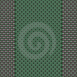 Green Pink Checkered Design Stock Photos - Image: 9865403