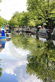 Little Venice London Royalty Free Stock Photo - Image: 9867105
