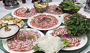 Main Dish Of Chinese Hot Pot Royalty Free Stock Photography - Image: 9867337
