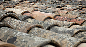 Old Roof Royalty Free Stock Photos - Image: 9868538