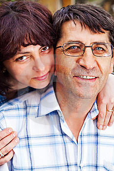 Family Happy Couple - Husband And Wife Stock Image - Image: 9869171