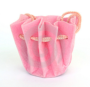 Pink Jewelery Bag Royalty Free Stock Images - Image: 9871419
