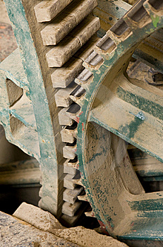 Gear Wheels Royalty Free Stock Photos - Image: 9873748