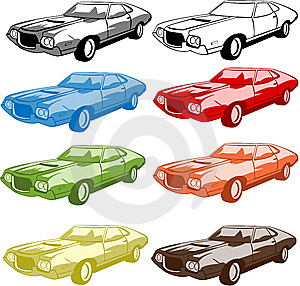 Sport Car Collection Royalty Free Stock Photo - Image: 9874405