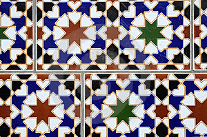 Arabic Tile Royalty Free Stock Photo - Image: 9875055