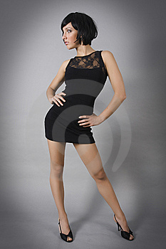 Fashion Model Stock Photo - Image: 9875630