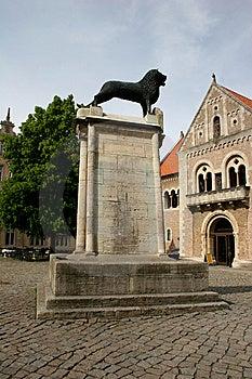 Braunschweig Burglöwe Stock Image - Image: 9875931