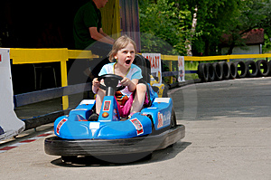 Bumper Car Stock Image - Image: 9879671