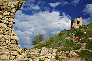 Ancient Fortress Royalty Free Stock Images - Image: 9882869