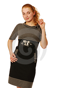 Young Woman Stock Photo - Image: 9887190