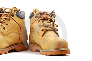 Yellow Boots Stock Photography - Image: 9887912