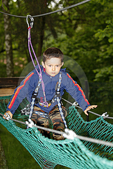 Boy Climbing Stock Photography - Image: 9888352