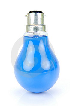 Colored Light Bulbs Royalty Free Stock Photos - Image: 9888758