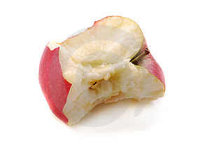 Bit Of An Apple Stock Images - Image: 9889064