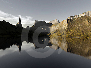 Reflexion Stock Photography - Image: 9890252