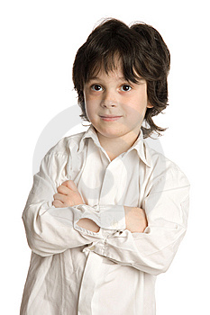 The Close-up Portrait Of Little Boy Royalty Free Stock Photos - Image: 9895188