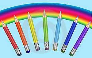 Colored Pencils Royalty Free Stock Photography - Image: 9895927