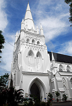 Singapore: St. Andrew's Cathedral Stock Photos - Image: 9896753