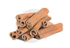 Cinnamon Sticks On White Background Royalty Free Stock Photo - Image: 9897765