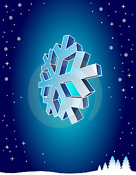 Blue Winter Background Stock Image - Image: 9897801