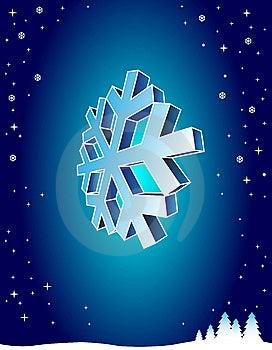 Blue Winter Background Stock Image - Image: 9897801