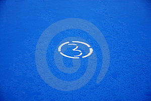Figure Of Three In A Circle Royalty Free Stock Images - Image: 992049