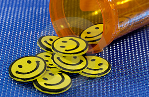 Happy Pills Royalty Free Stock Image