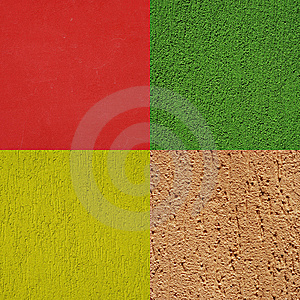 Wall Texture Collage Royalty Free Stock Images - Image: 9902319