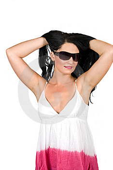 Young Woman With Sunglasses Stock Images - Image: 9903024