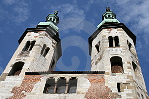 Saint Andrew Church, Krakow, Poland Stock Image - Image: 9903741