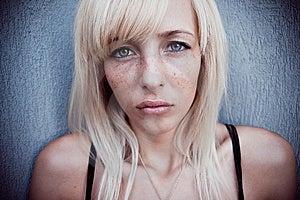 Fright Woman Stock Photos - Image: 9903803