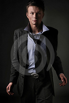 Elegant Man Royalty Free Stock Photography - Image: 9904947