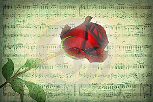 Old Fashioned Love Song Stock Photo - Image: 9906990