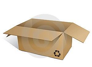 Corrugated Box (ecologic) Stock Photography - Image: 9908802